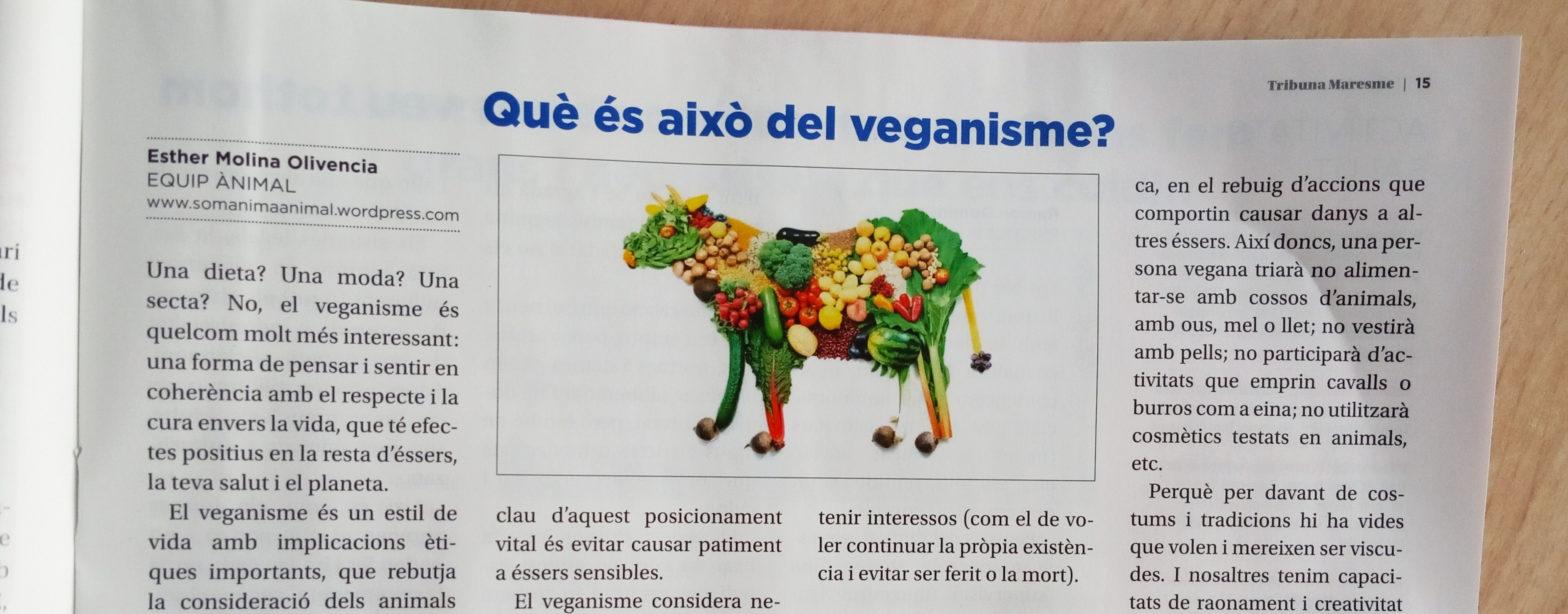Què és això del veganisme?